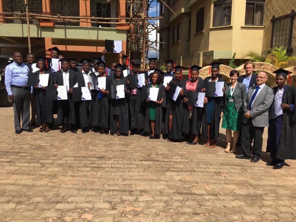 Entrepreneurshp Diploma Program graduation ceremony in Kampala, Uganda, 13 June 2018
